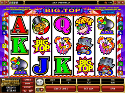 slot machine big top