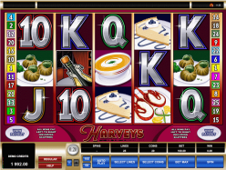 slot machine harveys