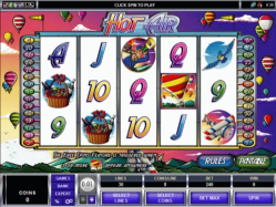 slot machine hot air